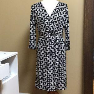 WHBM Faux Wrap Dress